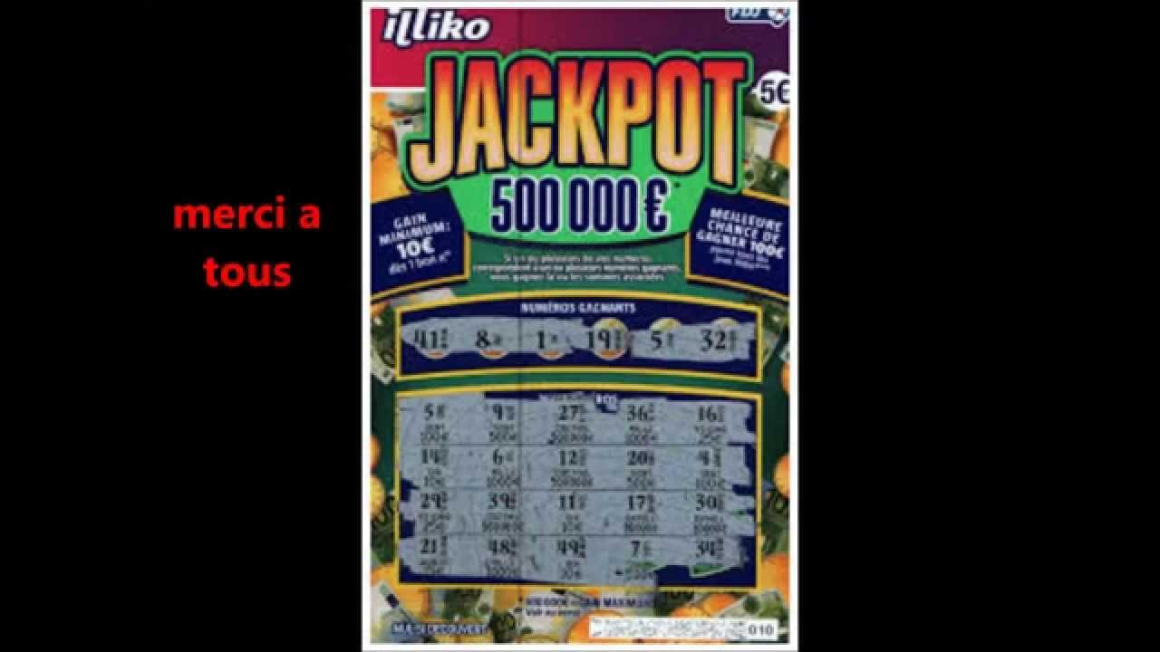 jackpot jeu a gratter