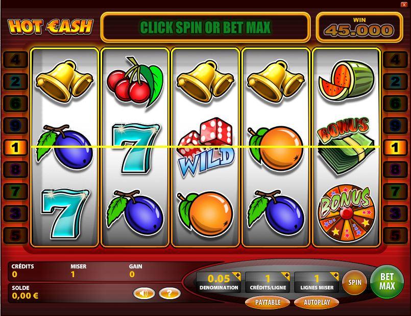 jeu du casino gratuit