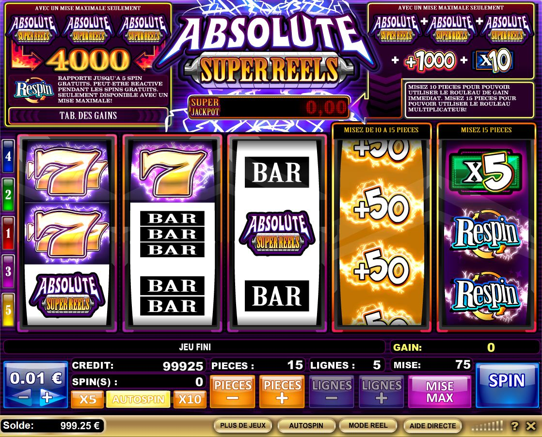 Jeux Casino Machine A Sous