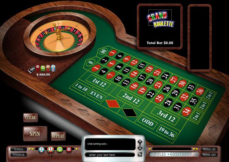 jeu de la roulette casino