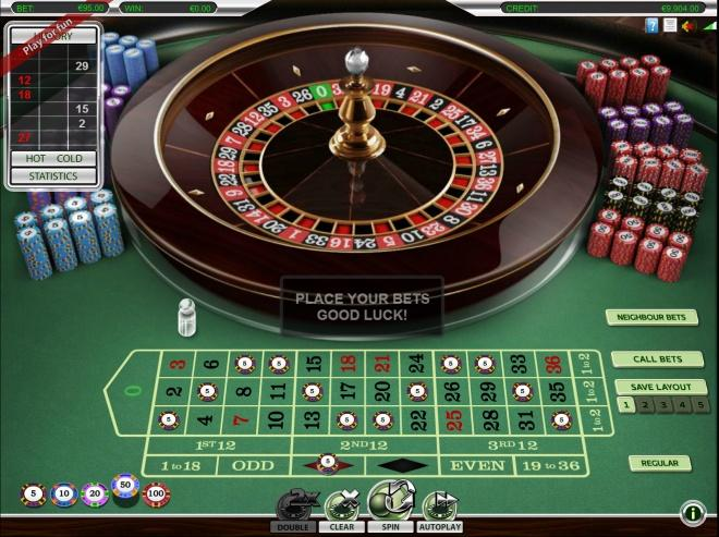jeux de la roulette