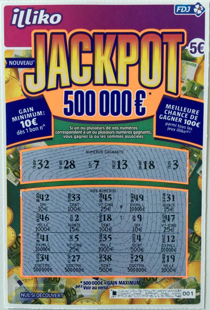 Jackpot Fdj Gagnant Les Bonus Casino