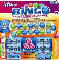jeu a gratter bingo